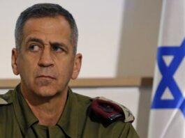 Israel's Army Chief of Staff, Lieutenant General Aviv Kochavi